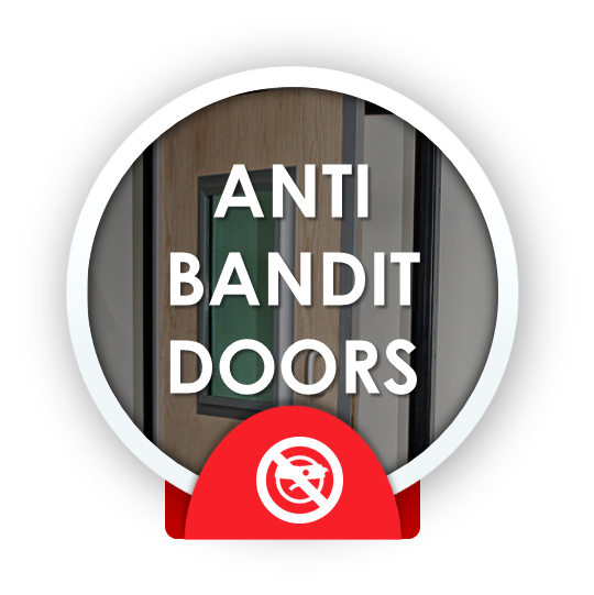 anti bandit doors